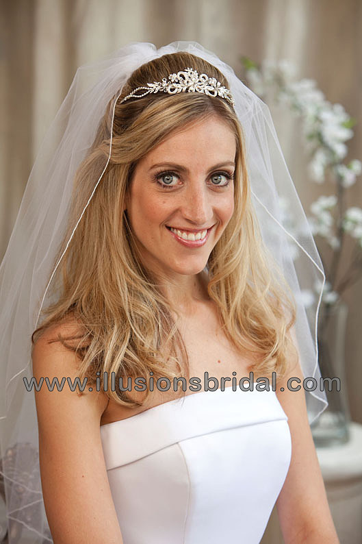 Beauty, Jewelry, silver, Tiaras, Hair, Tiara, Illusions bridal veils