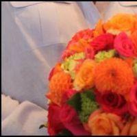 Flowers & Decor, orange, pink, green, Flowers, Calla, Lily, Dahlia