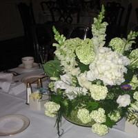 Flowers & Decor, white, green, Centerpieces, Flowers, Centerpiece, Of, House, House of flowers