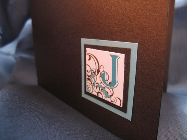 Inspiration, Favors & Gifts, Stationery, white, blue, brown, favor, invitation, Invitations, Monogram, Party, Board, Seal, Label, Initial, Envelopment, La design boutique, Emblem