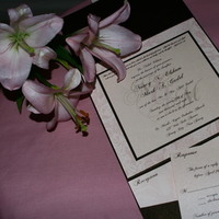 Inspiration, Stationery, pink, brown, Invitations, Board, Rsvp to me