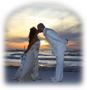 Ceremony, Inspiration, Flowers & Decor, blue, gold, Beach, Beach Wedding Flowers & Decor, Wedding, Board, Weddings, Sunset, Florida, Company