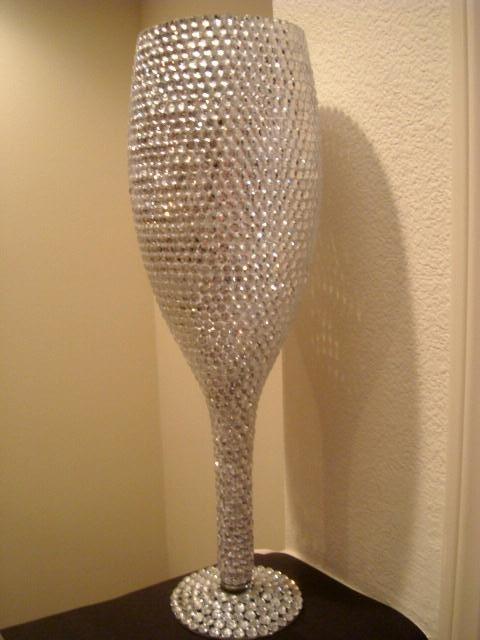 Diy Vase With Rhinestones