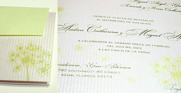 Stationery, white, green, silver, Invitations, Eva petersen design luxury invitations fine stationery