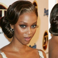 Beauty, Updo, Hair, Banks, Tyra