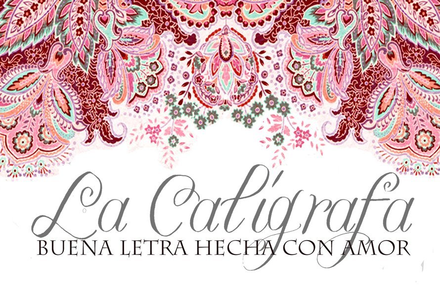 Calligraphy, Stationery, pink, Invitations, Central, La caligrafa -calligraphy in central america-, America, Handwritting