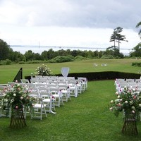 Ceremony, Flowers & Decor, white, yellow, orange, pink, red, purple, blue, green, black, silver, gold, Mackinac island weddings