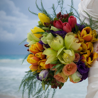Flowers & Decor, yellow, orange, pink, purple, green, Bride Bouquets, Flowers, Bouquet, Brides, Ma occasion planners