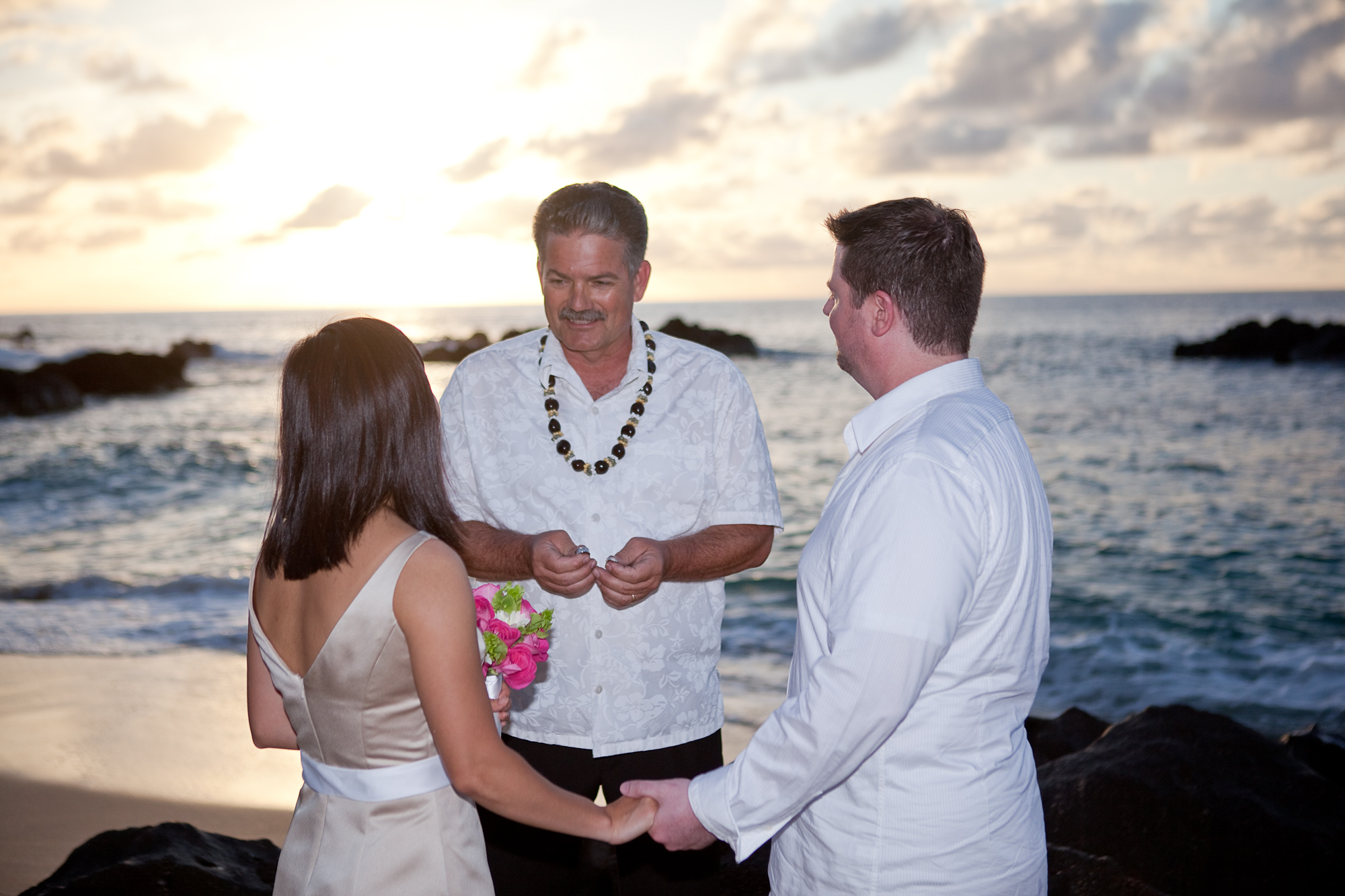 Ceremony, Flowers & Decor, Officiant, Minister, The marrying man hawaii