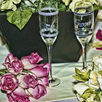 Ceremony, Inspiration, Reception, Flowers & Decor, Cakes, white, ivory, yellow, orange, pink, red, purple, blue, green, brown, black, silver, gold, cake, Ceremony Flowers, Flowers, Toast, Table, Champagne, Board, Oneal photography and videography, Fluke