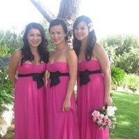 Bridesmaids, Bridesmaids Dresses, Fashion, pink, black