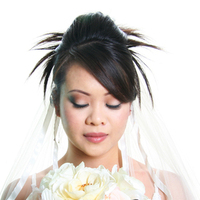Beauty, Flowers & Decor, white, Makeup, Updo, Bride, Flower, Wedding, Hair, Bridal, San, Area, Bay, Airbrush, Jose, By tammy do