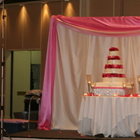 Ceremony, Inspiration, Reception, Flowers & Decor, Cakes, pink, cake, Table, Board, Backdrop, Joli se faire llc