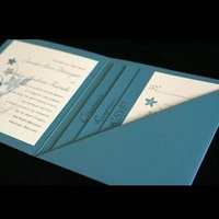 Stationery, blue, Invitations, Bb10 creative