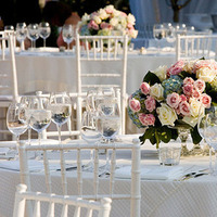Reception, Flowers & Decor, white, pink, blue, Eden events