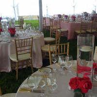Reception, Flowers & Decor, pink, gold, Eden events