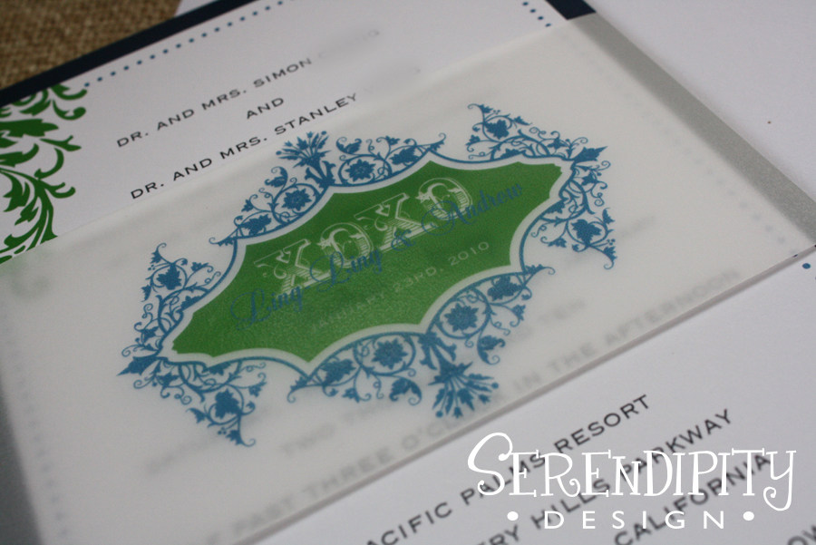 Ceremony, Inspiration, Flowers & Decor, Stationery, white, blue, green, Vintage, Invitations, Board, Serendipity design, Wrap, Flourish, Dots, Swirls, Belly, Vellum, Matte, Panel, Flat, Xoxo, Orante