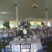 Reception, Flowers & Decor, purple, blue, Eden events