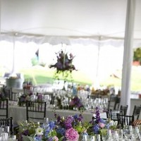 Reception, Flowers & Decor, white, purple, blue, Flowers, Eden events