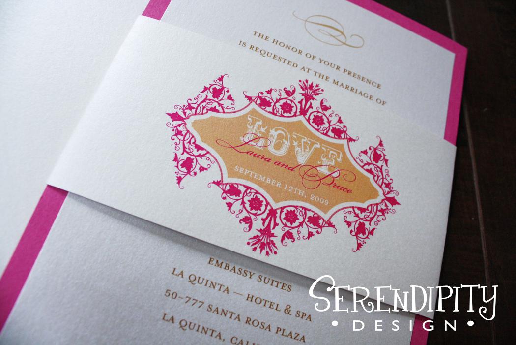 Inspiration, Stationery, white, orange, pink, gold, invitation, Vintage, Vintage Wedding Invitations, Invitations, Board, Serendipity design, Invite, Love, Metallic, Panel, Flat