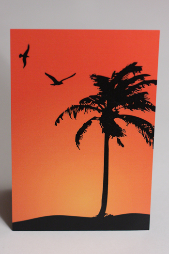 Stationery, Destinations, orange, black, Destination Weddings, Beach, Invitations, Destination wedding, Something green