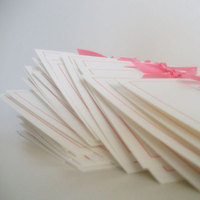 Stationery, white, pink, Announcements, Invitations, Custom, Hand, Faye co