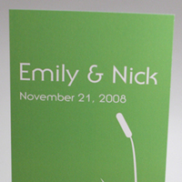 Stationery, green, Invitations, Nature, Something green, Bulrushes