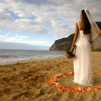 Beauty, Ceremony, Reception, Flowers & Decor, Wedding Dresses, Fashion, white, yellow, orange, pink, red, purple, blue, green, gold, dress, Makeup, Ceremony Flowers, Flowers, Hair, Island reflections photography, Flower Wedding Dresses