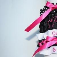 Reception, Flowers & Decor, white, pink, black