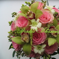 Flowers & Decor, pink, Bride Bouquets, Flowers, Bouquet, Wedding, Bridal, Blossom, Mississauga, Bridal blossom