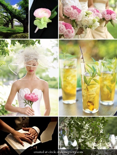 Inspiration, white, yellow, Southern, Low, Board, Weddings, Country