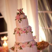 Flowers & Decor, Cakes, white, pink, green, cake, Flowers