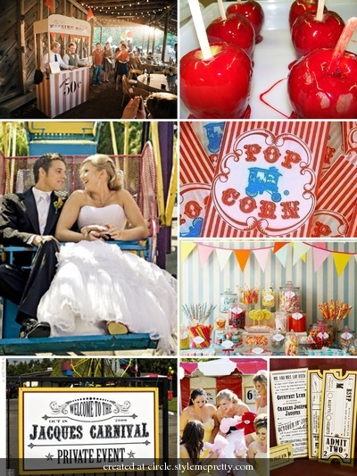 Inspiration, Vintage, Wedding, Board, State, Inspired, Wheel, Ferris, Carnival, Fair