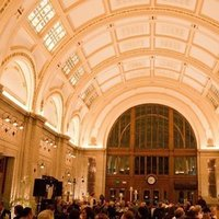 Reception, Flowers & Decor, Lighting, Train, Station, Hall
