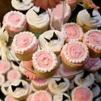 Cakes, pink, black, cake, Cupcakes, The makery, Barry, Staver