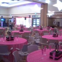 Reception, Flowers & Decor, white, pink, black, silver, Sylver weddings
