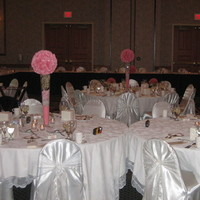 Reception, Flowers & Decor, white, pink, Modern, Architectural, House of flowers