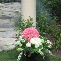 Ceremony, Flowers & Decor, white, pink, venue, Outdoor, Wedding, House of flowers
