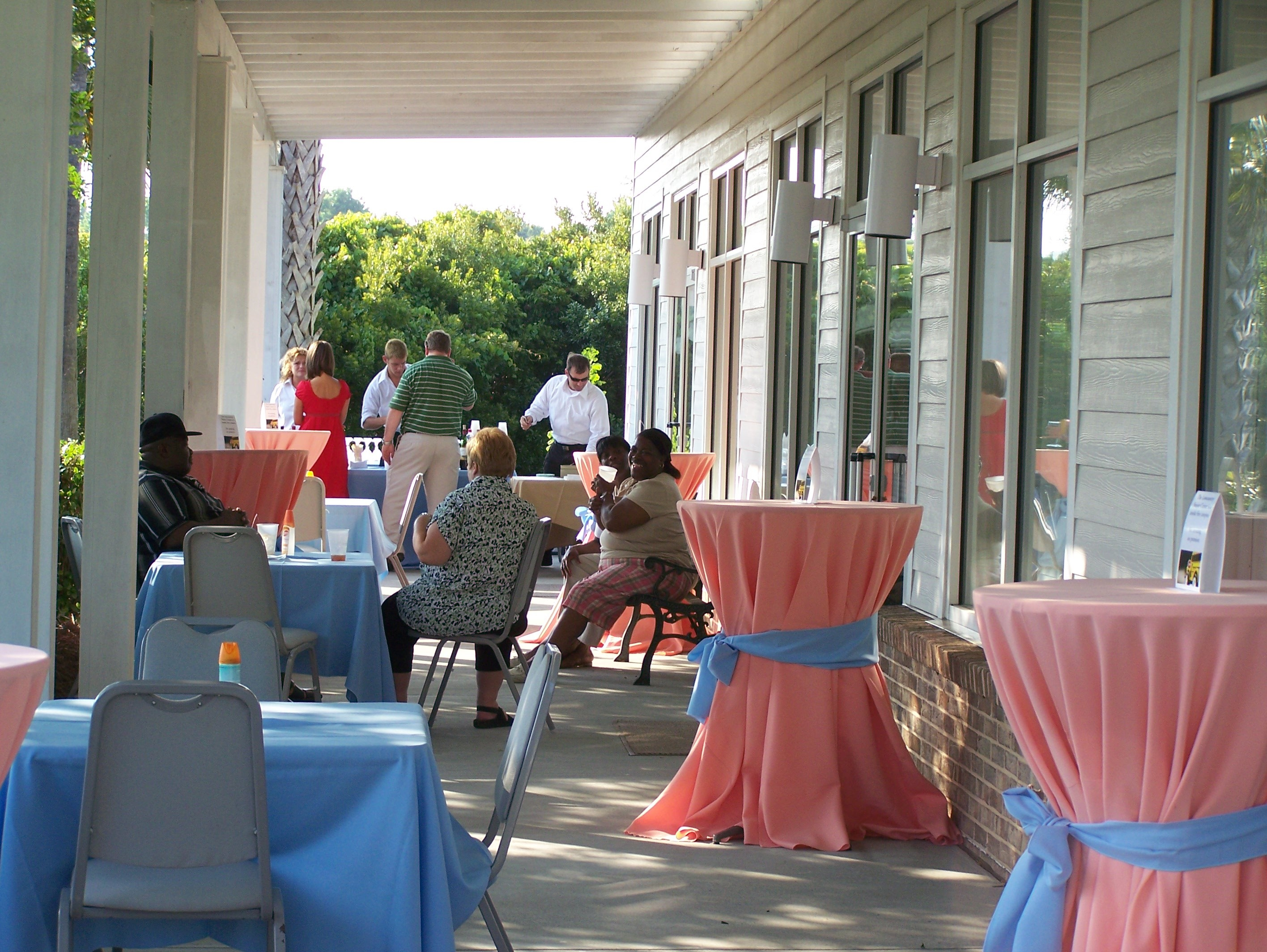Outdoor, Patio, Space, Lowcountry senior center