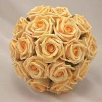 Ceremony, Reception, Flowers & Decor, Bridesmaids, Bridesmaids Dresses, Fashion, gold, Ceremony Flowers, Bridesmaid Bouquets, Flowers, Silk, Artificial, Flower Wedding Dresses, Silk Wedding Dresses