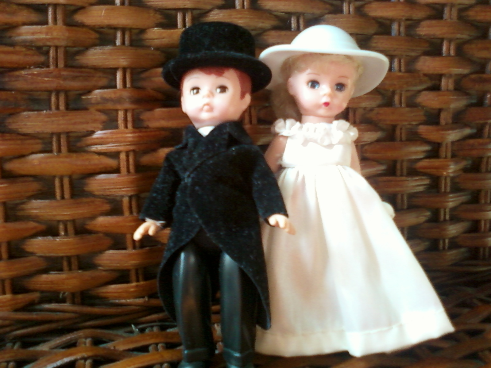 Ceremony, DIY, Flowers & Decor, Cakes, yellow, black, cake, Vintage, Vintage Wedding Cakes, Bride, Groom, Cutting, Children, Toppers, Retro, Toys, Doll, Collectible, Mcdonalds