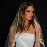 Beauty, Jewelry, Wedding Dresses, Veils, Fashion, white, dress, Long Hair, Veil, Hair, Bridal, Long, Cathedral, Chapel, Mantilla, Marisol aparicio, veils for every bride etsy vendor