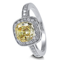 Jewelry, yellow, orange, silver, Engagement Rings, Engagement ring, Wedding ring, Sterling silver ring, Newoutletcom, Cz ring, Cubic zirconia ring, Solitaire ring