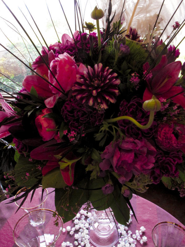 Flowers & Decor, pink, purple, brown, Flowers, Maximum capacity events