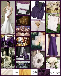 Inspiration, Flowers & Decor, Bridesmaids, Bridesmaids Dresses, Wedding Dresses, Rustic Vineyard Wedding Dresses, Fashion, purple, gold, dress, Bridesmaid Bouquets, Rustic, Flowers, Elegant, Board, rustic wedding dresses, Flower Wedding Dresses
