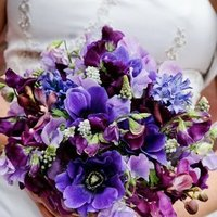Flowers & Decor, Bridesmaids, Bridesmaids Dresses, Fashion, purple, Bride Bouquets, Bridesmaid Bouquets, Spring, Modern, Flowers, Modern Wedding Flowers & Decor, Bouquet, Bridal, Mocha rose floral designs, Modern Wedding Dresses, Spring Wedding Dresses, Flower Wedding Dresses