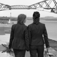 Ceremony, Inspiration, Reception, Flowers & Decor, Destinations, black, Destination, Board, Weddings, Gay, Commitment, Kilts, Civil-partnerships