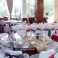 Ceremony, Reception, Flowers & Decor, white, red, black, gold, Events n things by lynn