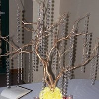 Flowers & Decor, yellow, pink, gold, Flowers, Tree, Crystal, Manzanita, Posh stems