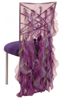 purple, Chiavari, Chair, Cover